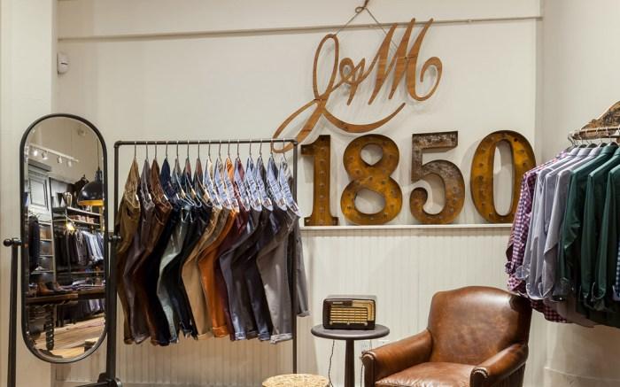 johnston & murphy New York store