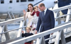 kate middleton canada prince george princess