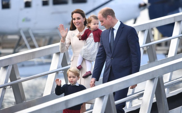kate middleton canada prince george princess charlotte william