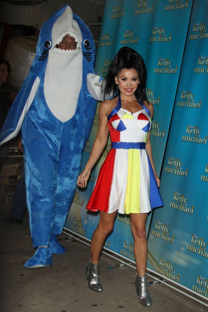 Kelly Ripa Halloween Style