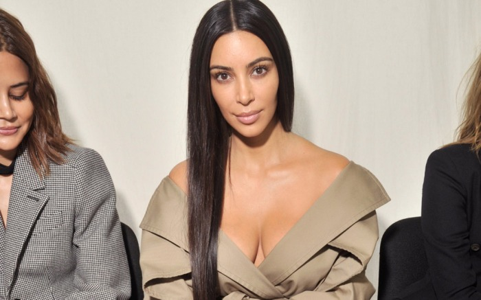 kim kardashian west no makeup balenciaga