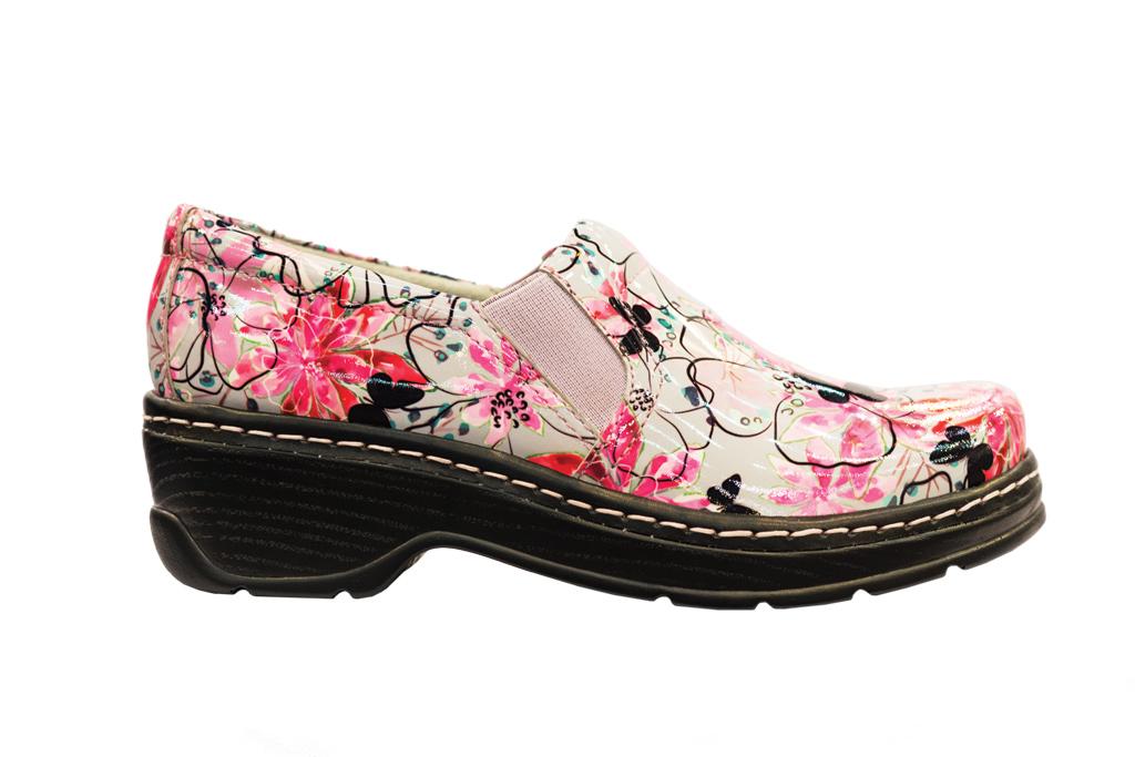 Klogs Floral Slip Resistant Shoes