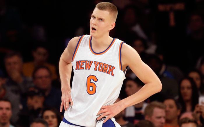 New York Knicks Kristaps Porzingis