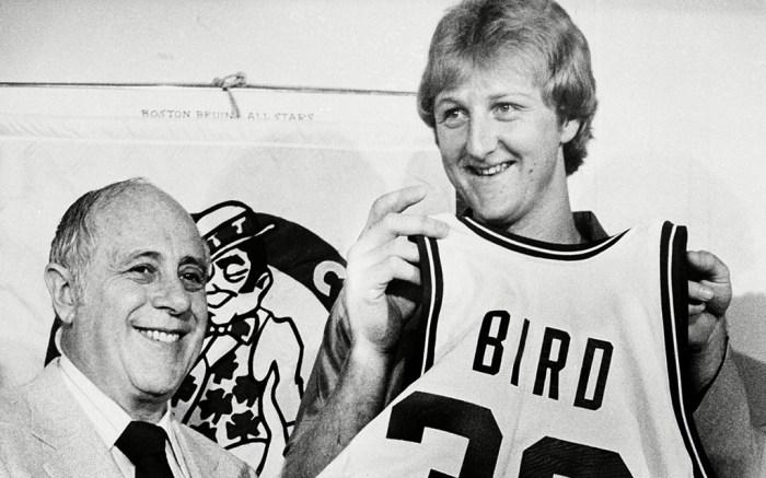 Larry Bird Boston Celtics 1979