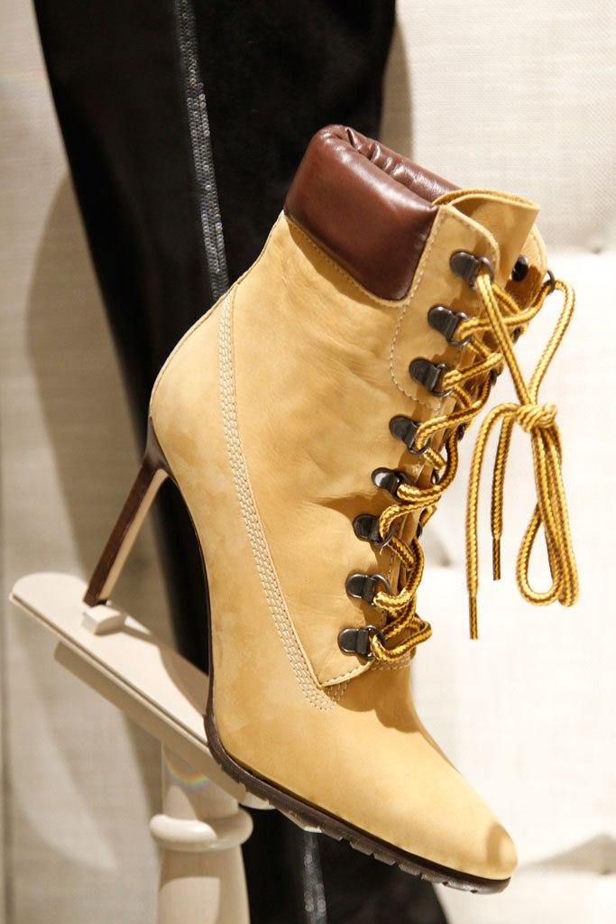 Manolo Blahnik's Timberland Style Boots