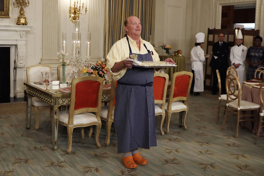 Mario Batali White House State Dinner Crocs