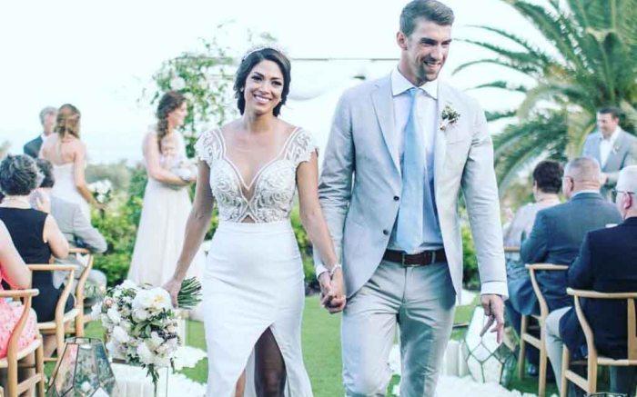 michael phelps wedding photos
