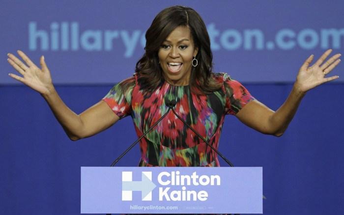 Michelle Obama Hillary Clinton Campaign