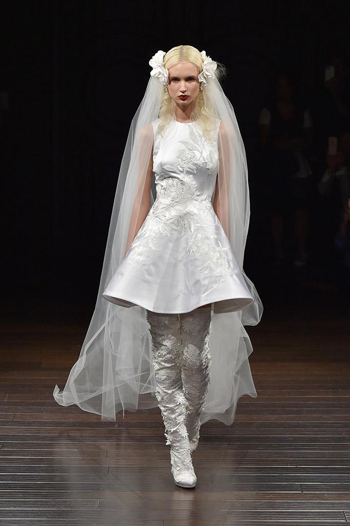 Bridal Fashion Week Non-Traditional Shoes