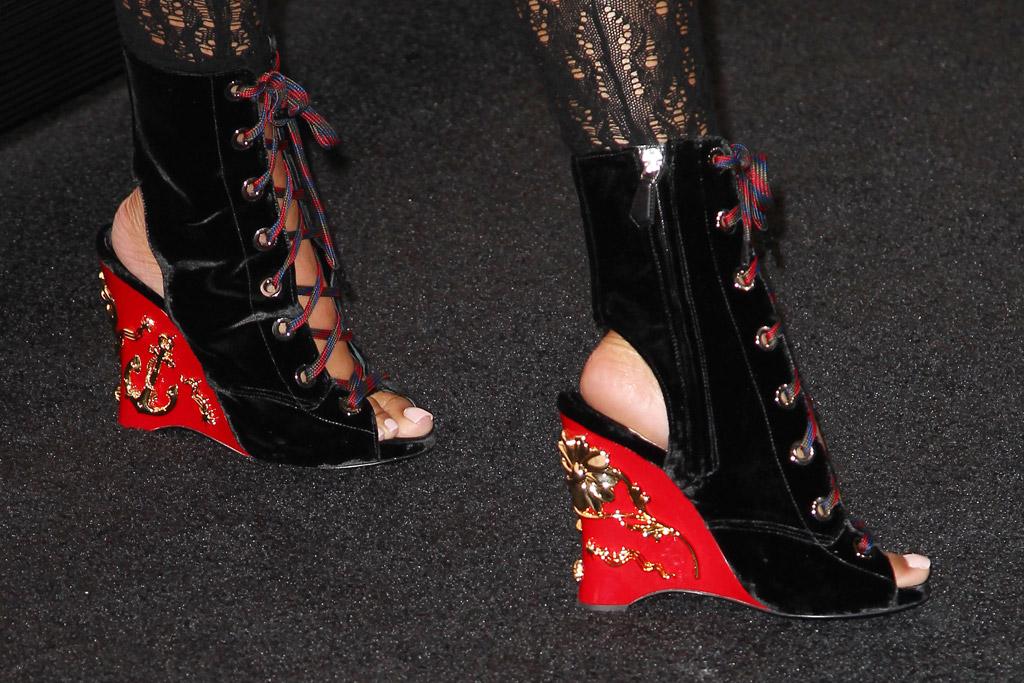 nicki minaj heels tidal
