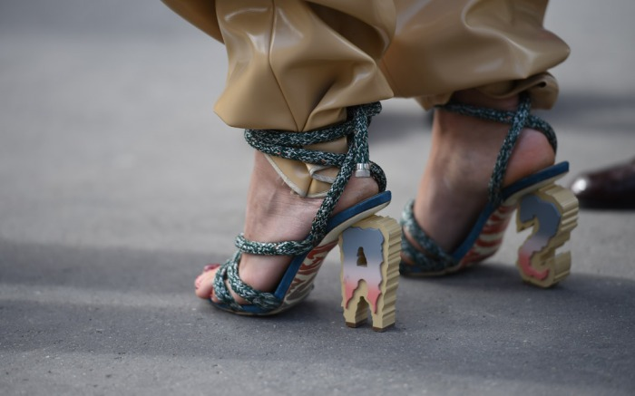 PFW Spring '17 Street Style Shoes