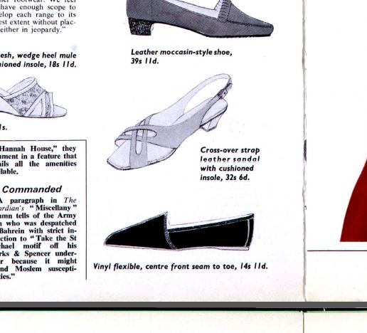 The archive inspiration behind Alexa Chung's York Shoe for Archive by Alexa.