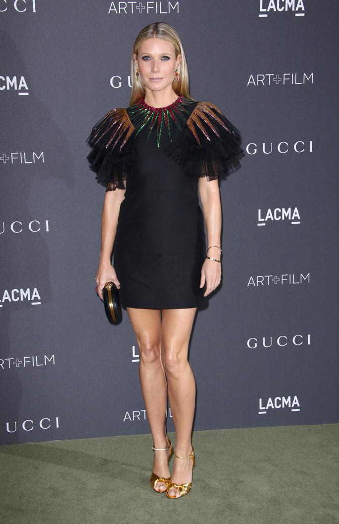 Gwyneth Paltrow lacma gucci