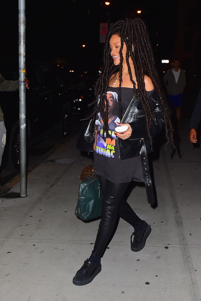 Rihanna Shoe Style