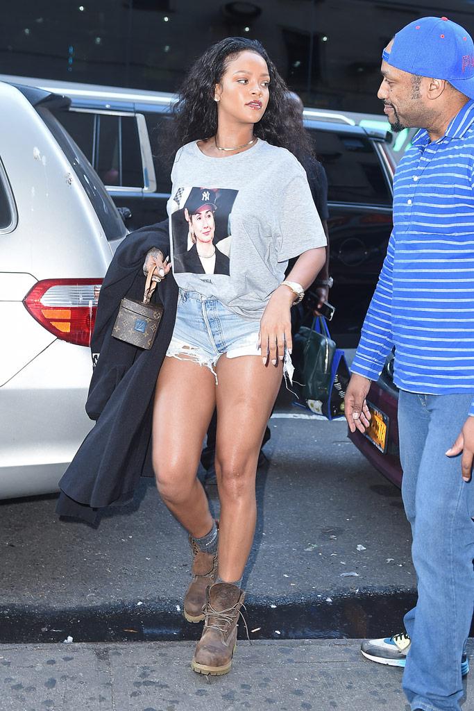 Rihanna Hillary Clinton Timberland Boots