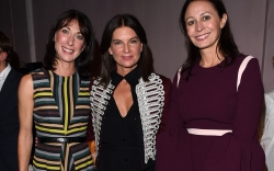 Samantha Cameron, Natalie Massenet and Caroline