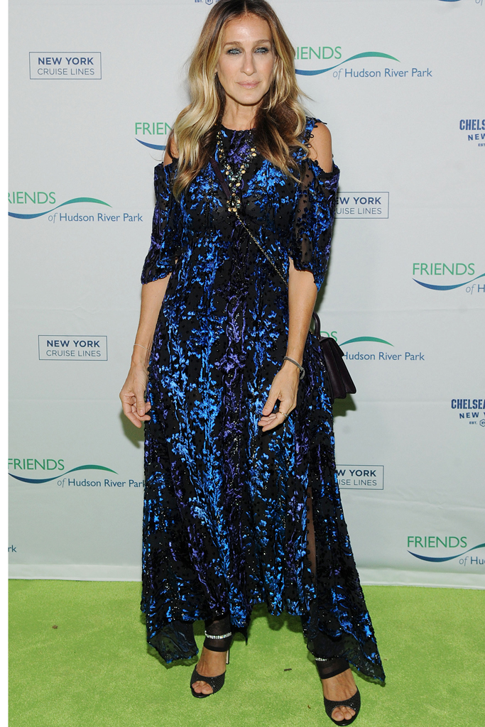 Sarah Jessica Parker Hudson River Gala