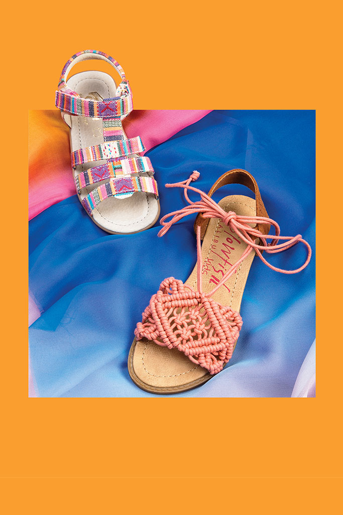 boho girls shoes spring 2017