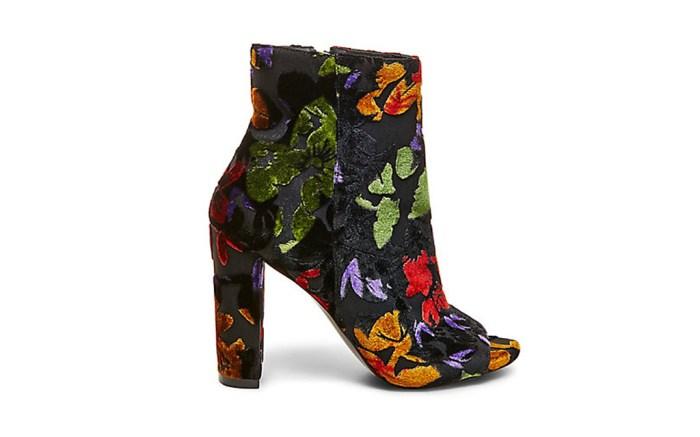steve madden floral boot