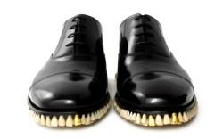 craziest shoes teeth