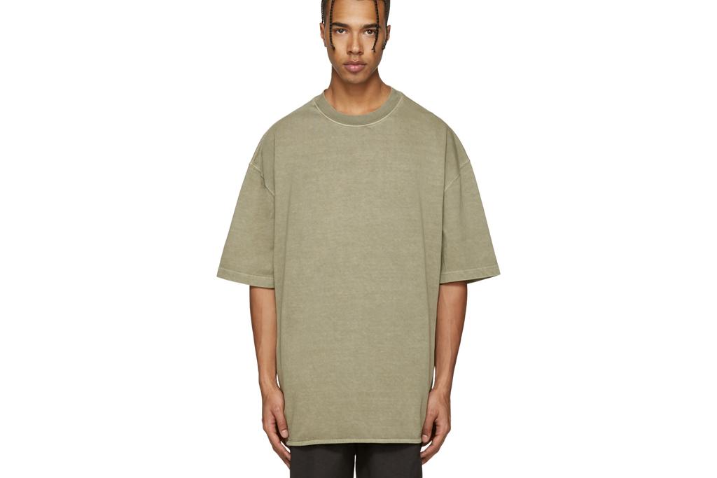 Yeezy Season 3 Green Heavy Knit Tee