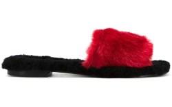 Avec Modération Fur Slippers
