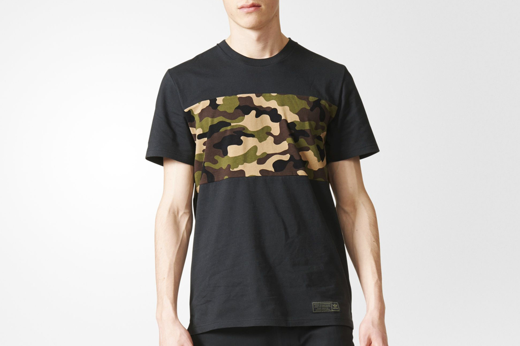 Adidas Blocked Camouflage Tee