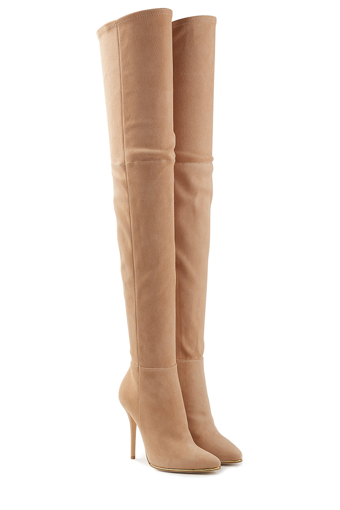 Balmain Thigh High Boots
