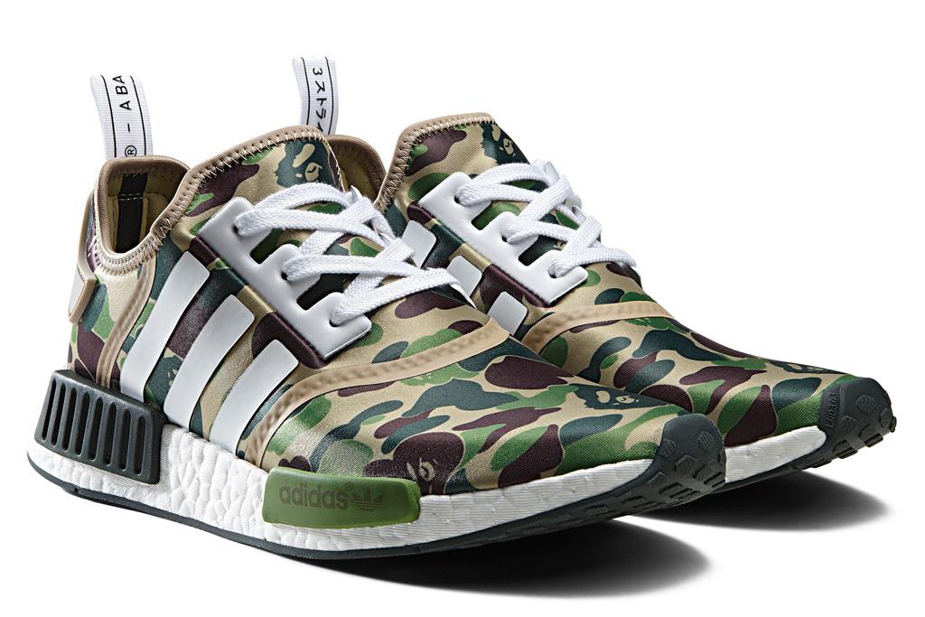 the Bape x Adidas NMD
