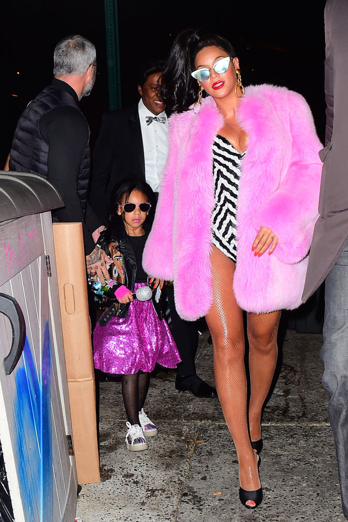 Beyoncé Blue Ivy Halloween