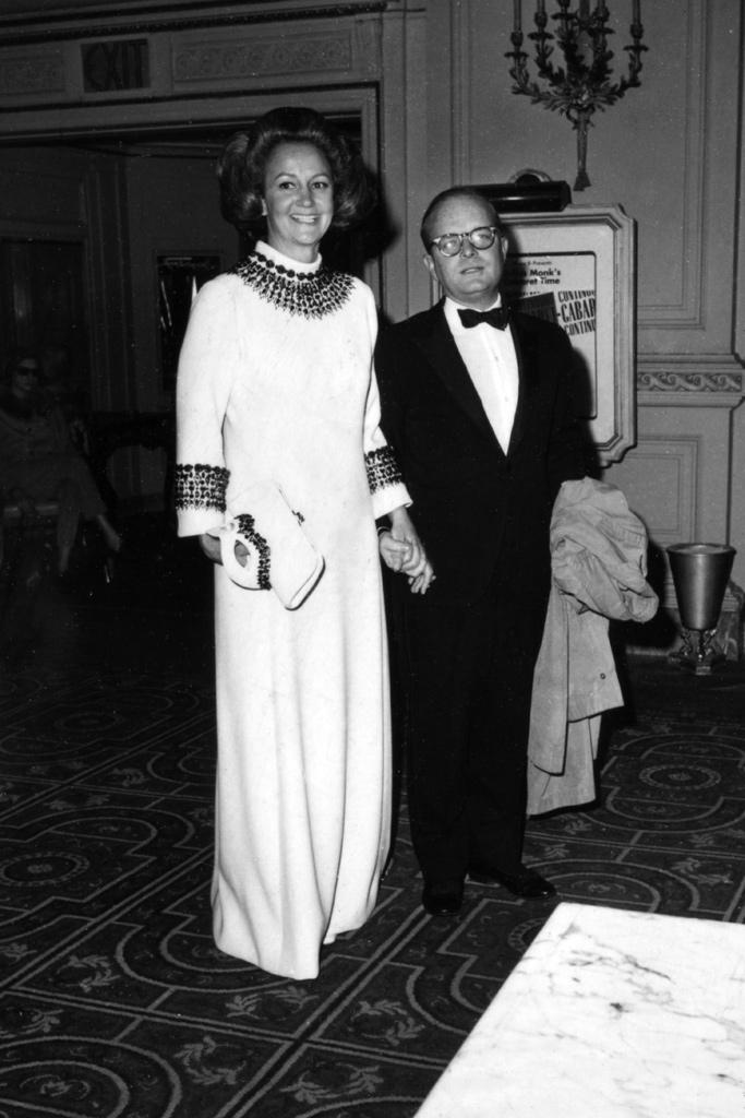 Truman Capote Black and White Ball 1966
