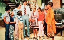 Florence Henderson and the Brady Bunch