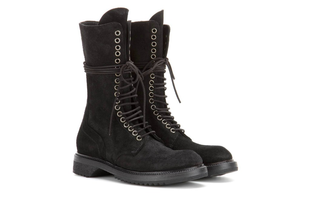 Rick Owens Army Boots