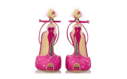 Charlotte Olympia flamingo heel