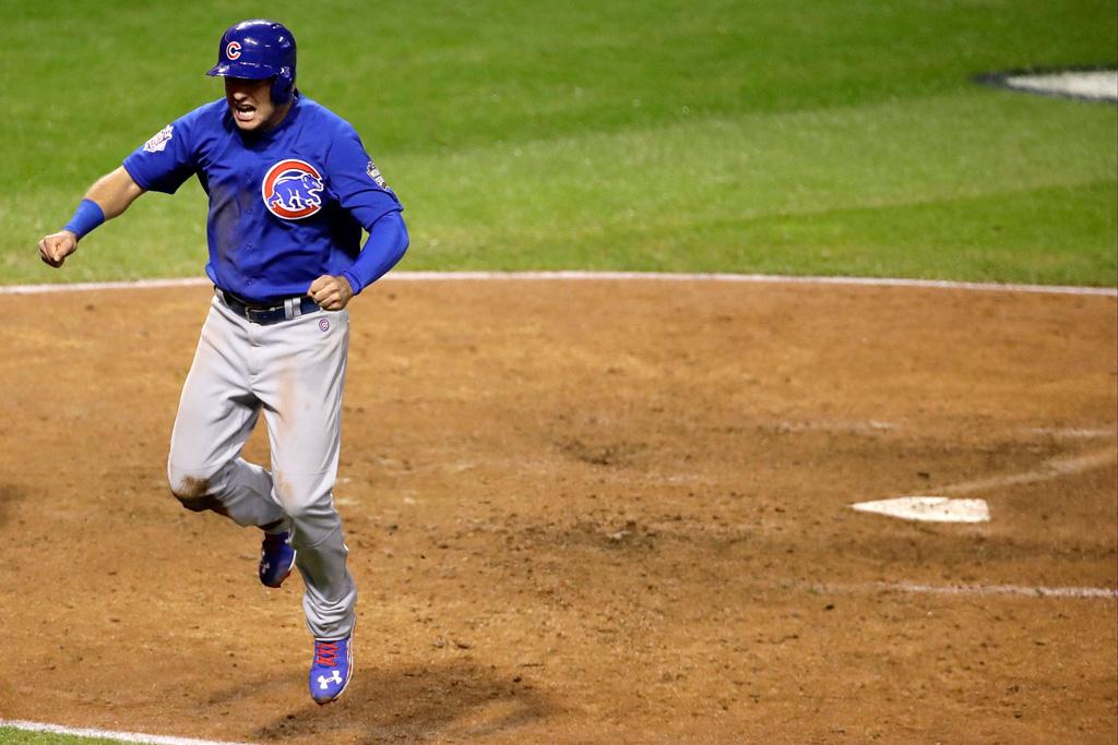 Under Armour Albert Almora Jr. World Series Chicago Cubs