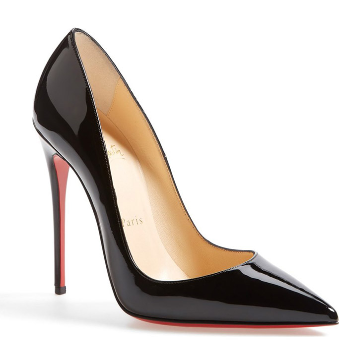Christian Louboutin So Kate patent pump