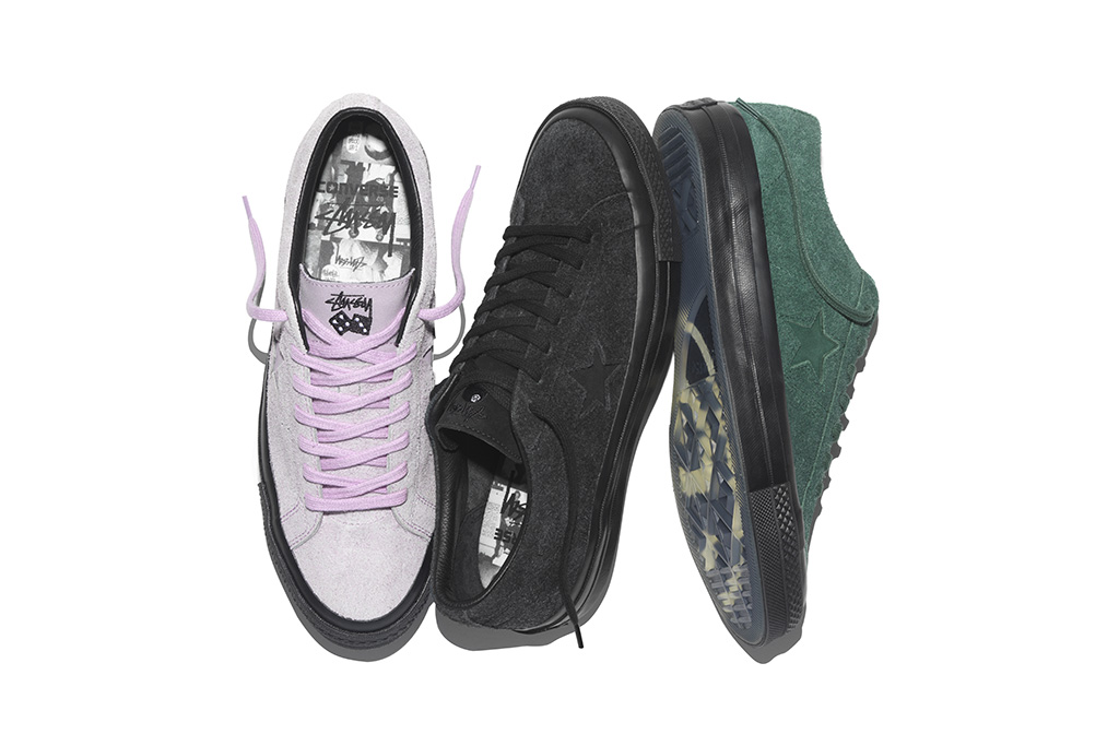 Converse One Star '74 x Stussy Collection