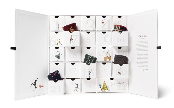 Corgi Sock Advent Calendar