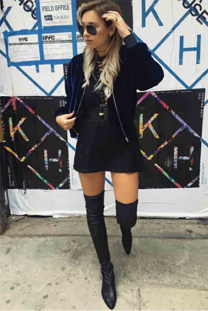 Danielle Bernstein Debuts Footwear Collection