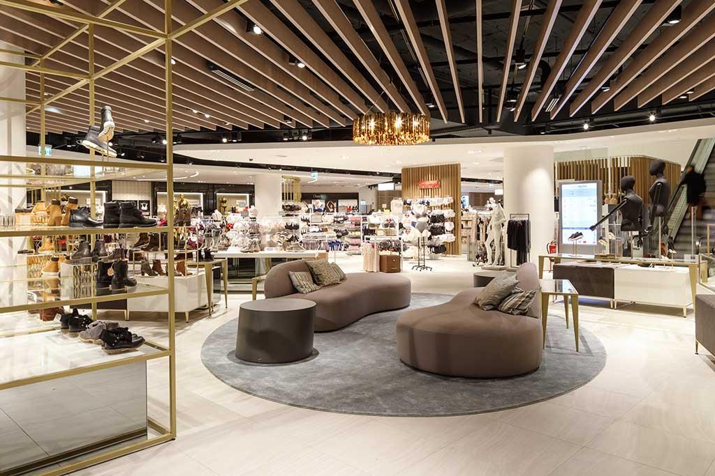 New Galeria Kaufhof store concept.