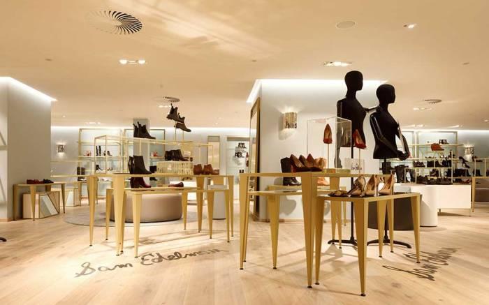 Galeria Kaufhof's new shoe concept featuring Sam Edelman.