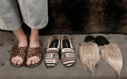 Luxurious Slippers and Mules for Elegant