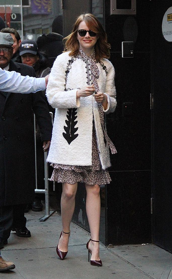 Emma Stone Jimmy Choo Shoe Moments