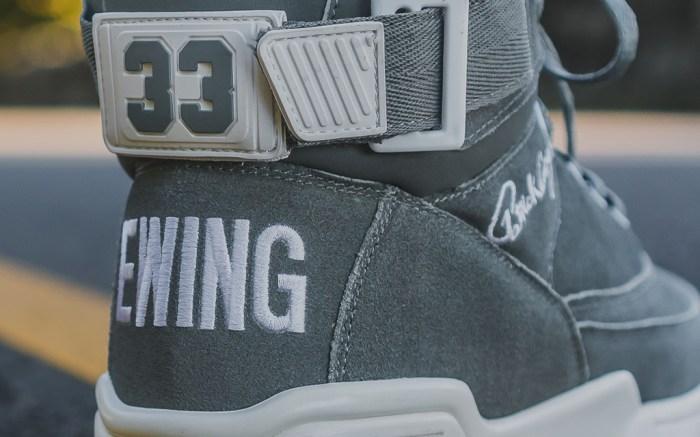 Gray White Ewing Athletics 33 HI.