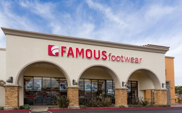 Famous Footwear Ventura California