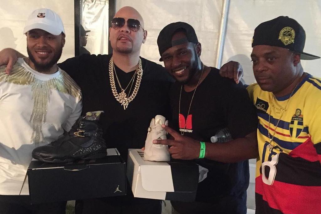 Rapper Fat Joe Is Opening a Sneaker