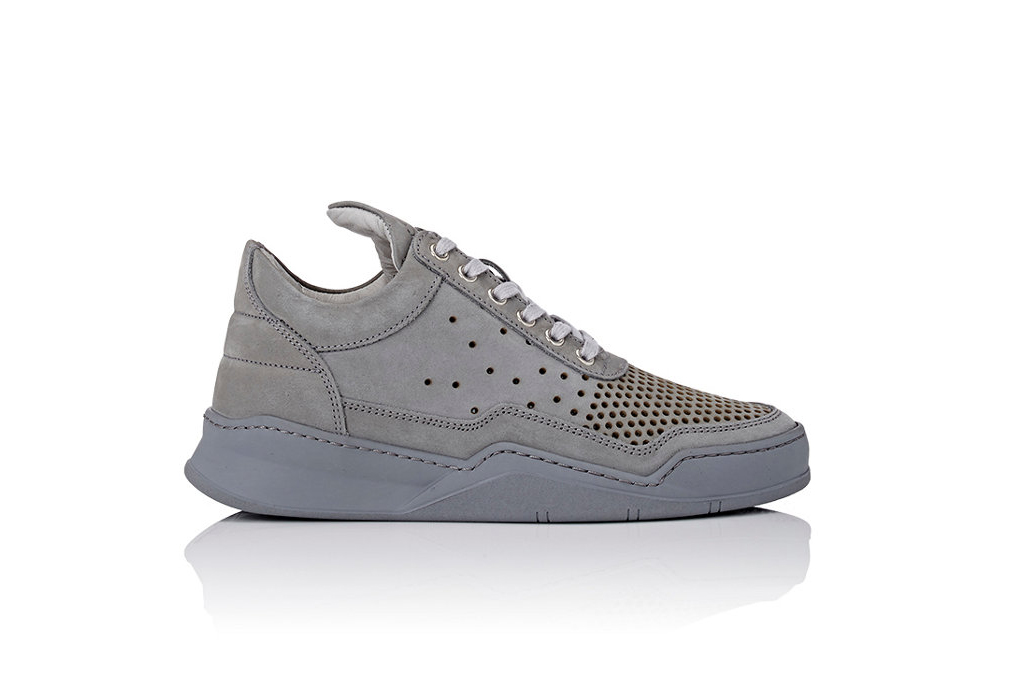 Filling Pieces Perforated Low Top