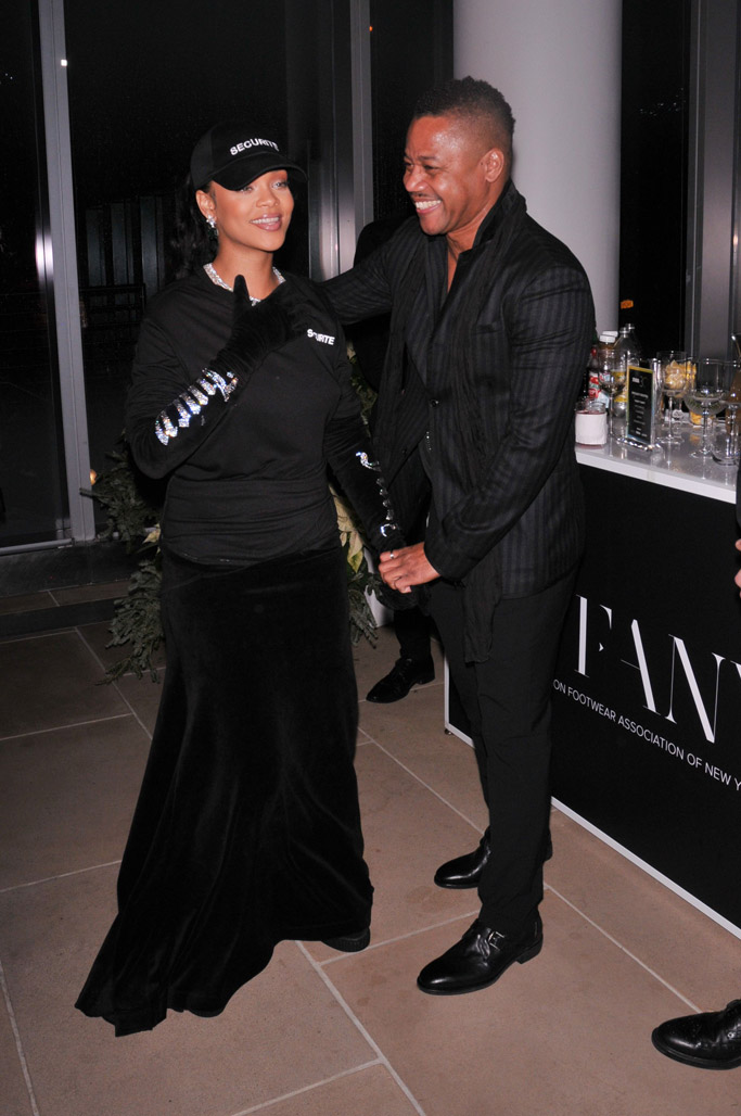 Rihanna Cuba Gooding Jr FNAA 2016