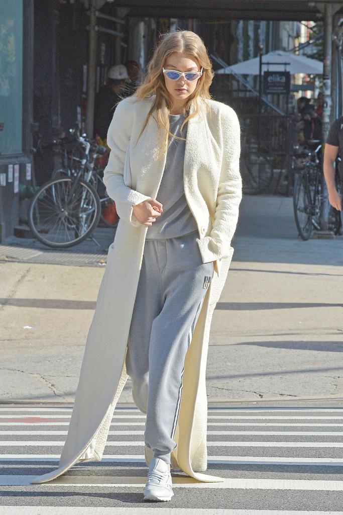 Gigi Hadid NYC Style
