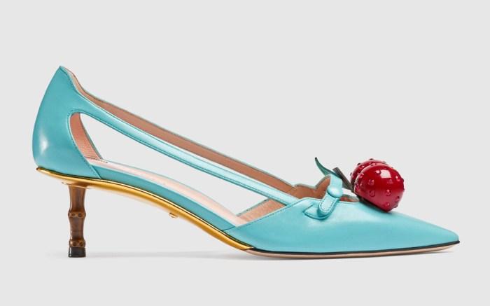 gucci cherry pump